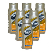 Dial 3-D All Day Odour Defence Body Wash Men