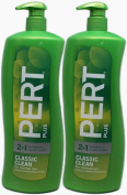 Pert Plus 2-in-1 Shampoo + Conditioner, Classic Clean for Normal Hair, 1180ml