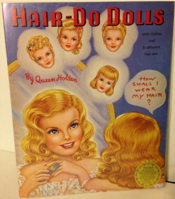 """Queen Holden """"Hair Do Dolls"""" Book"""