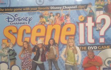 Disney Channel Scene it. DVD Game
