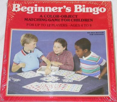 Beginner's Bingo