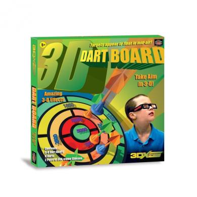 3Dx-Treme Dart Board