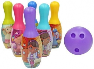 Doc Mcstuffins Licenced Bowling Set