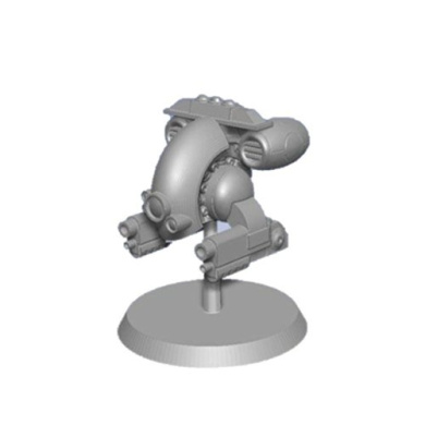 Bombshell 28mm scale Miniatures: Security Bot