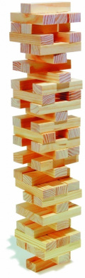 Stacking Blocks like Jenga