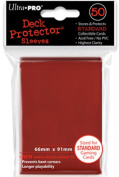50 Red Ultra-Pro Sleeves/Deck Protectors for Magic/MTG/Pokemon Cards