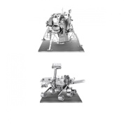 Set of 2 Metal Earth 3D Laser Cut Models