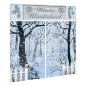 Scene Setter Winter Wonderland Wall Decorating Kit