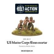 USMC 81mm Mortar Team