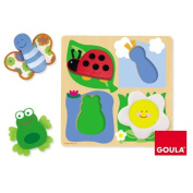 Fabric Countryside Wooden Puzzle