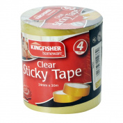 Clear Stick Tape 24mmx 30m Approx