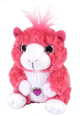 "Sweet & Sassy - Pink Guinea Pig - 8""/20cm"