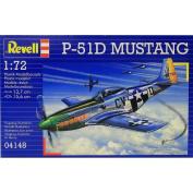 Revell US WW2 P-51D Mustang - 1/72 Plastic Model Kit