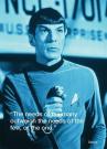 Star Trek - Spock Iquote - 10 x 15cm