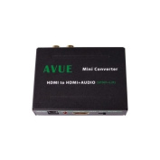 Avue HDMI-A011 HDMI AUDIO EXTRACTOR SPDIF+ R/L analogue AUDIO OUTPUT