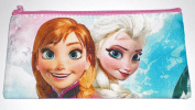 Disney Frozen Anna/Elsa Pencil/Pen Pouch or Cosmetic Bag - Pink