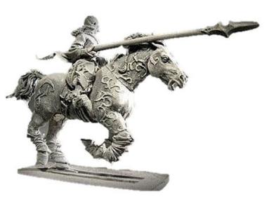Gamezone Miniatures: Dark Elves - Dark Light Cavalry IV (1)