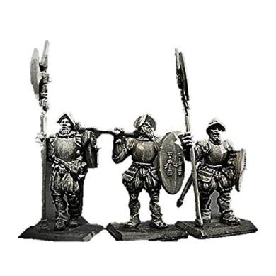 Gamezone Miniatures: Empire - Imperial Halberdier I (3)
