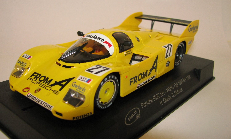 1/32 Slot Car, Slot it Porsche 962C KH #27 WSPC Fuji 1000km 1988
