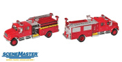 Walthers SceneMaster International 4900 Fire Engine, Red