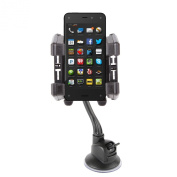 DURAGADGET Car Window Mobile Phone Holder Mount Kit With Multi Angle Viewing For Amazon Fire Phone