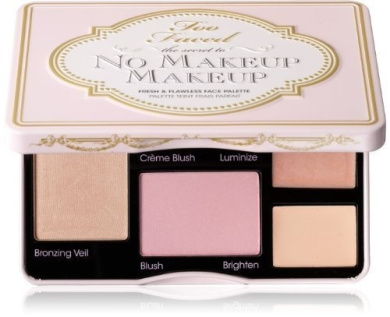 Too Faced The Secret to No Makeup Makeup Fresh and Flawless Face Palette, 20ml