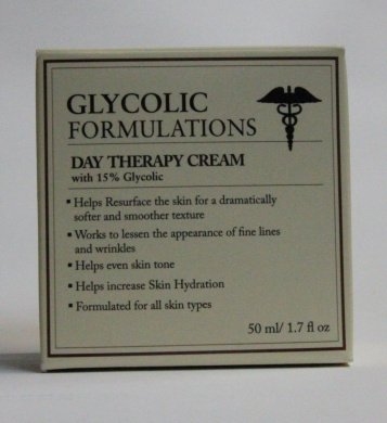 Glycolic Formulations Moisturiser with 15% Glycolic ~ 50ml