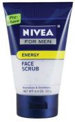 Nivea for Men Energy Face Scrub, 130ml Tube