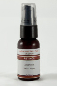 1% Retinol Serum with Hyaluronic Acid, Vitamin E and Green Tea 1oz/30ml Pump Bottle