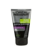 L'Oreal Men Expert Pure & Matte Charcoal Black Scrub - 100ml/3.3oz ( by abobon )best sellers