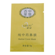 6 Packs Herbal Deep Cleansing Nose Pores Blackheads Removal Conk Mask