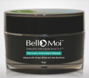 Bello Moi - Recovery Antioxidant Masque. Anti Ageing Skin Face Mask with Ginkgo Biloba and Sea Buckthorn. Helps Rejuvenate, Firm, and Brighten. Heals and Combats Wrinkles and Dryness. Unsented and Paraben Free.