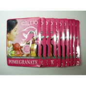 Cellio Extra Soothing Essential Mask_Pomegranate_10 sheets