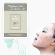 Cosmetic Natural Beauty White / Brightening Essence Full Face Mask 10 Pcs