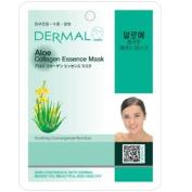 Dermal Korea Collagen Essence Full Face Facial Mask Sheet - Aloe