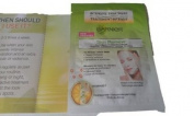 New Garnier Skin Renew Dark Spot Treatment Tissue Mask 6 Ct. - 20ml Each