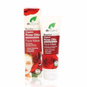 Organic Doctor Rose Otto Face Mask, 120ml - Cleansing, Restoring