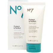 Boots No7 Protect & Perfect Hand Cream SPF 15 2.5 fl oz