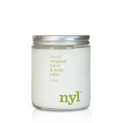 Whipped Hand & Body Lotion, Organic, 120ml