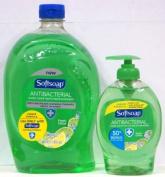 Softsoap Antibacterial Liquid Hand Soap with Moisturisers, Fresh Citrus, 330ml Pump Bottle + 1660ml Refill