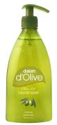 D'olive Liquid Hand Soap 400ml / 13.5 Fl.oz. 2 for $5.99