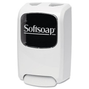 ** Foaming Hand Soap Dispenser, Beige/Smoke, 1250 mL, 6.7w x 4.2d x 11.1h