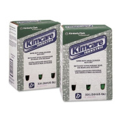 KIMBERLY-CLARK PROFESSIONAL* KIMCARE INDUSTRIE SuperDuty Hand Cleanser w/Grit, Herbal, 3.5L, Bag In Box - two bag-in-box hand cleanser refills.