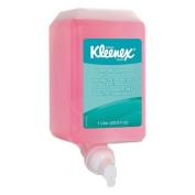 KIMBERLY-CLARK PROFESSIONAL* KLEENEX Hand Cleanser, Light Floral, 1L, Bottle - six cassette refills.