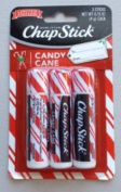 Chapstick Limited Edition Candy Cane 2 Pack of 3 each