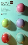 Body Care / Beauty Care eos Organic Smooth Sphere Lip Balm - Summer Fruit, Sweet Mint, Strawberry Sorbet, Passion Fruit, Honeysuckle Honeydew (5 Pack) Bodycare / BeautyCare