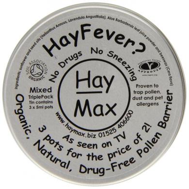 HayMax 15ml Organic Pollen Barrier Balm Triple Pack