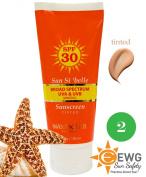 Sun Si'belle Broad Spectrum Mineral Moisturising Sunscreen SPF 30, tinted, with antioxidants, 100ml NEW formula 2014