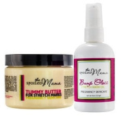 Spoiled Mama Stretch Mark Prevention Kit - Safe During Pregnancy