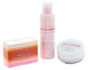 3pc Premium Face & Body Whitening Set w/ Glutathione, Rosehip, and Kojic Acid